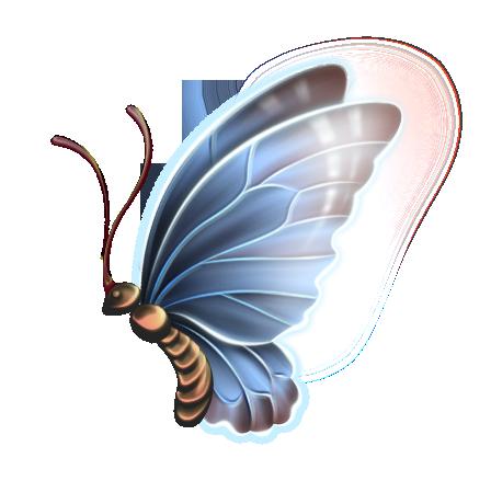png格式的蝴蝶图片